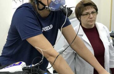 Визначення реакції кардіо-респіраторної системи на навантаження максимальної інтенсивності